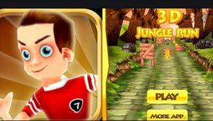 3D Jungle Runner